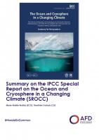 Summary on the IPCC Special Report on the Ocean and Cryosphere in a Changing Climate (SROCC)