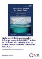 Nota de síntesis acerca del informe especial del GIEC sobre el océano y la criosfera en un contexto de cambio climático (SROCC)