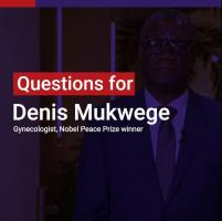 Denis Mukwege: Sexual violence is a fearsome weapon