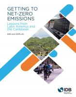 Getting to Net-Zero Emissions: Lessons from Latin America and the Caribbean