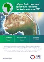 L'open data pour une agriculture résiliente - Hackathon Accra 2019