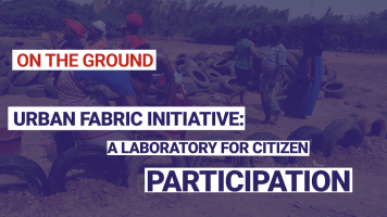 Urban fabric initiative: a laboratory for citizen participation
