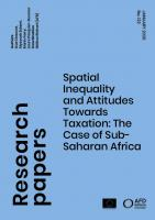 Spatial Inequality and Attitudes Towards Taxation_couv1