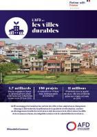 L'AFD et les villes durables
