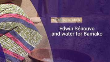 Edwin Sénouvo and water for Bamako