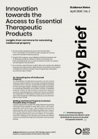 Document on Access to Essential Therapeutic products