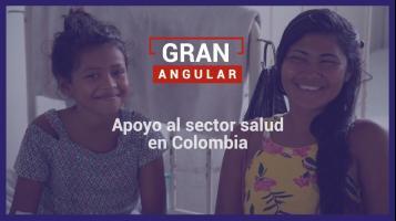 Appoyo al sector salud en Colombia