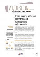 Urban waste:between decentralised management and commons