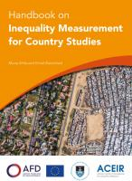 Handbook on Inequality Measurement for Country Studies