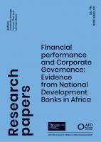 PapierdeRecherche179_FinancialPerformance&CorporateGovernance_EvidencefromNDBsinAfrica