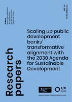 Sustainable development and public development banks_couv