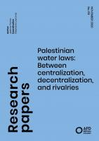 Palestinian water law_couv