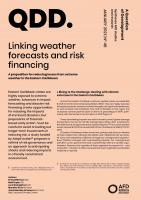Weather forecasts_risk financing_Eastern Caribbean_couv