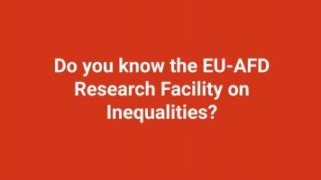 Do you know the EU-AFD Research Facility on Inequalities?