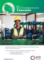AFD and the water and sanitation sector in Tanzania
