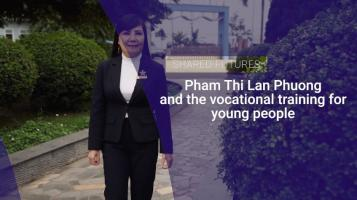 Pham Thi Lan Phuong and the vocational training for young people