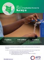 AFD and the water and sanitation sector in Kenya