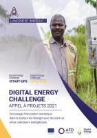 Digital Energy Challenge - Appel à projets 2021 - brochure
