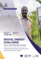 Digital Energy Challenge - 2021 Call for Projects - brochure