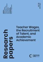 Teacher wages and academic achievement_couv1