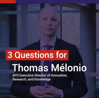 "Thomas Mélonio : ""we believe in the role that science and research play in development"""