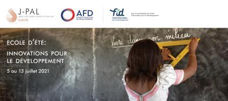 Ecole d'été Innovations pour le développement - Cycle de six conférences