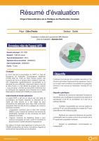 Résumé d'évaluation - Projet d'Intensification de la Politique de Planification Familiale - PIPPF, Côté d'Ivoire