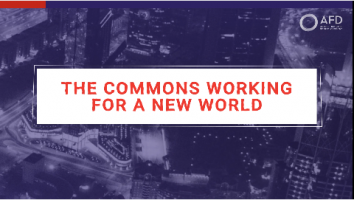 The Commons working for a new world