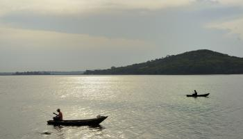 Potable water Lake Victoria / Didier Gentilhomme