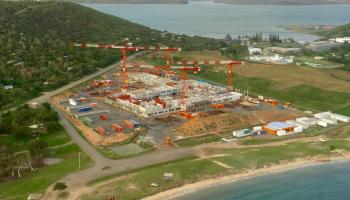 Clinic, construction, health, Nouméa, New Caledonia