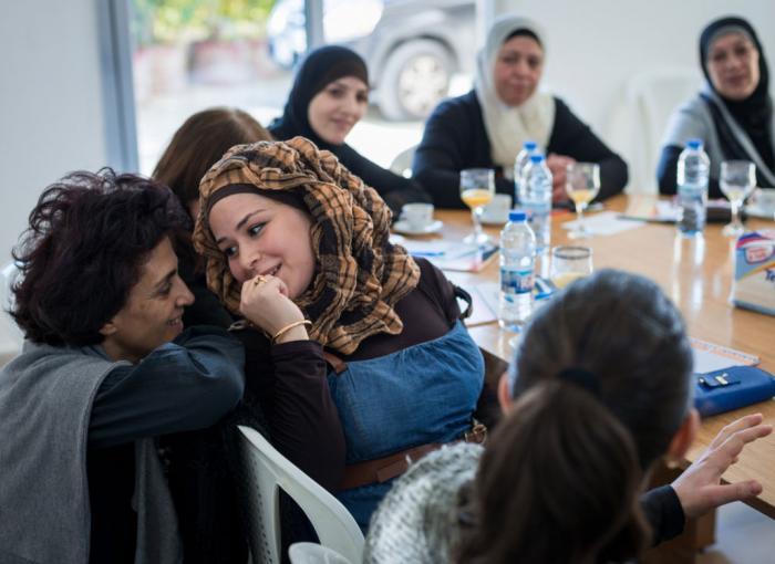 centre de réfugiés, femmes, Liban