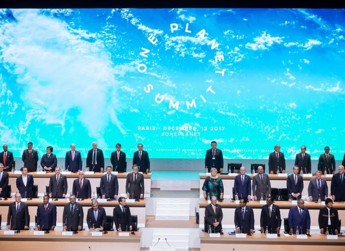 One Planet Summit, París, jefes de estado