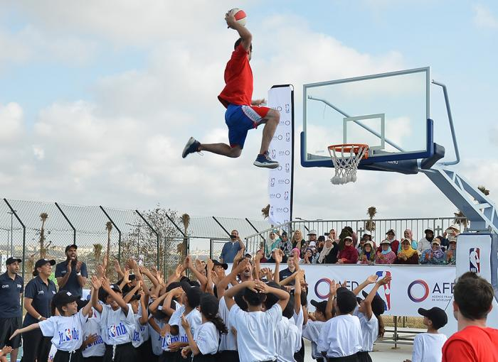 Morocco, NBA, youth, jump, dunk