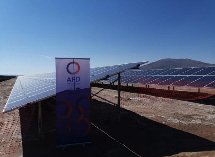Bolivia solar power station