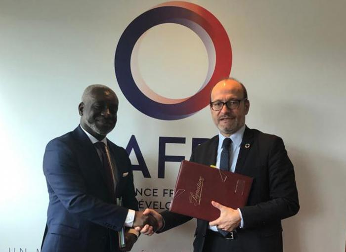AFD / African Guarantee Fund signature