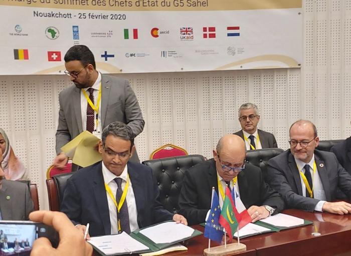 accord AFD Mauritanie, G5 Sahel