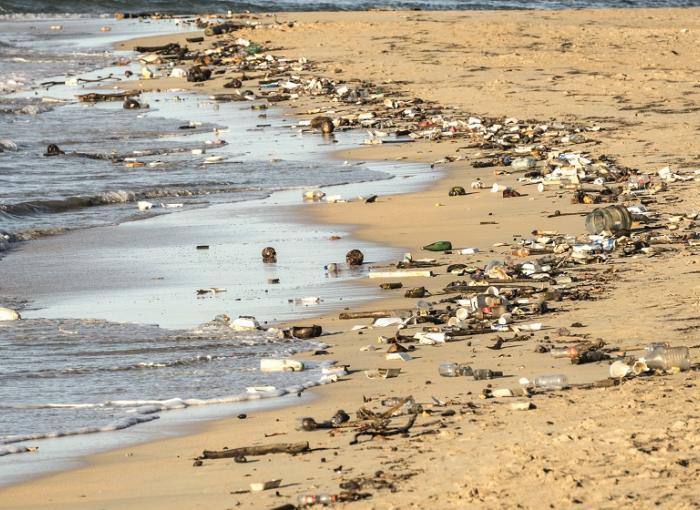 Ocean rubbish in Indonesia AFD