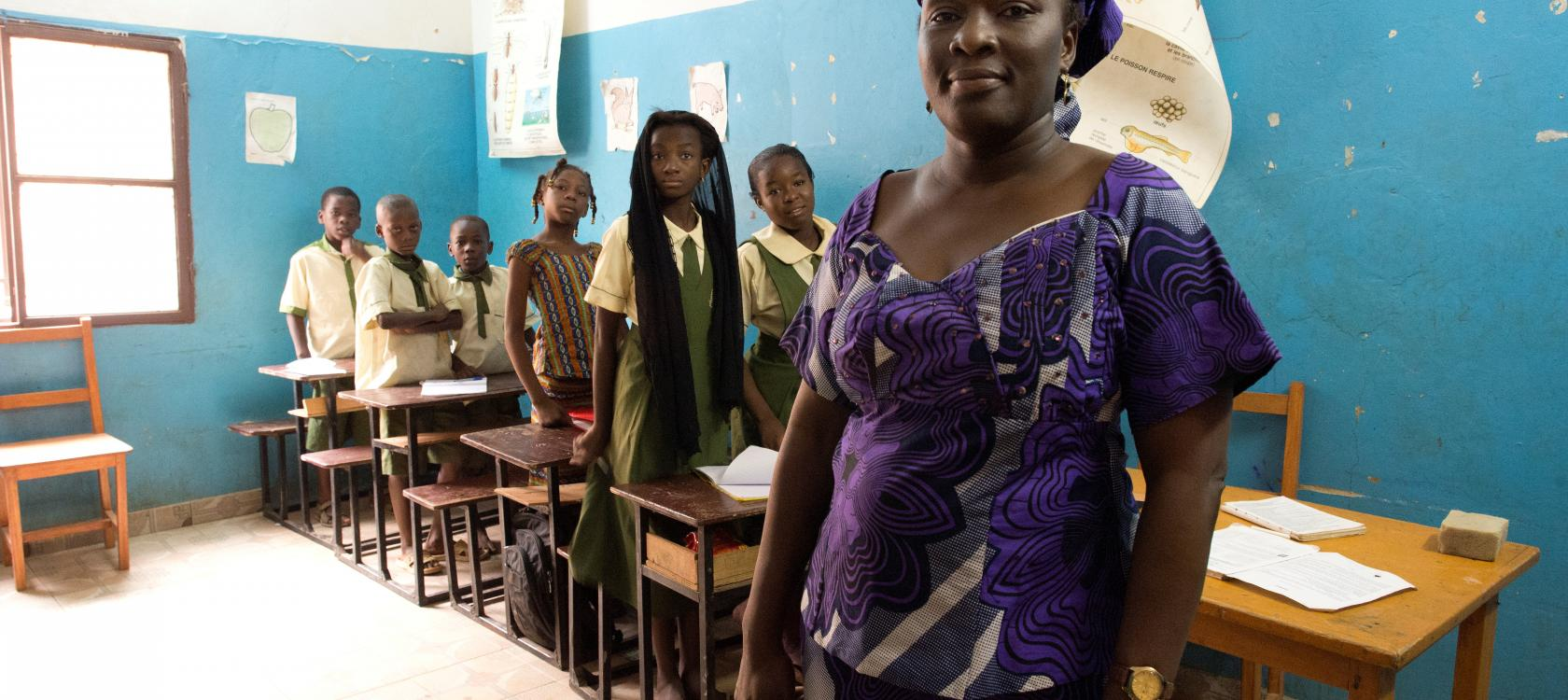 """""""Excellence Learning school"""" in Niamey, Niger"""
