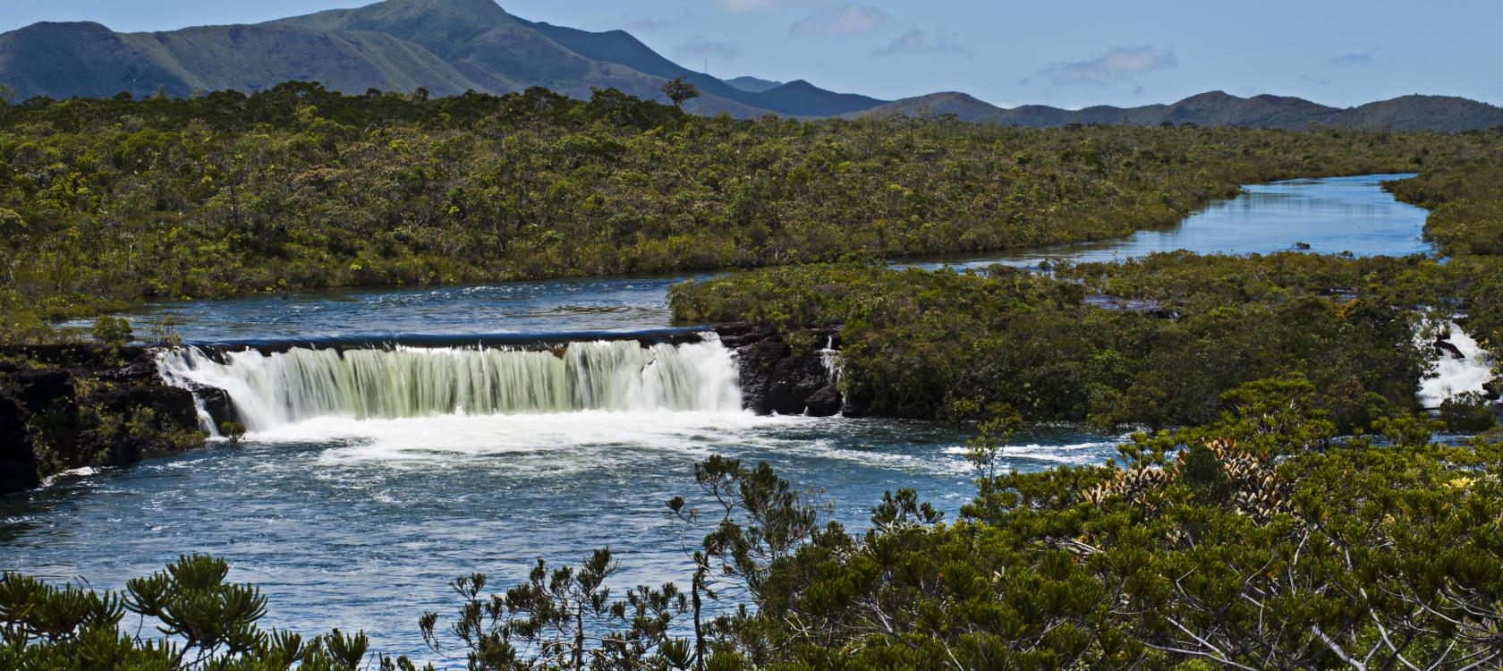 Madeleine waterfalls, New-Caledonia, Le Chélard