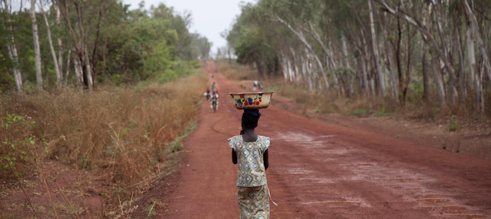 Rue de Bambari, République centrafricaine