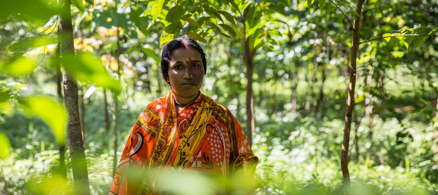 Woman, Assam, nature, biodiversity, India