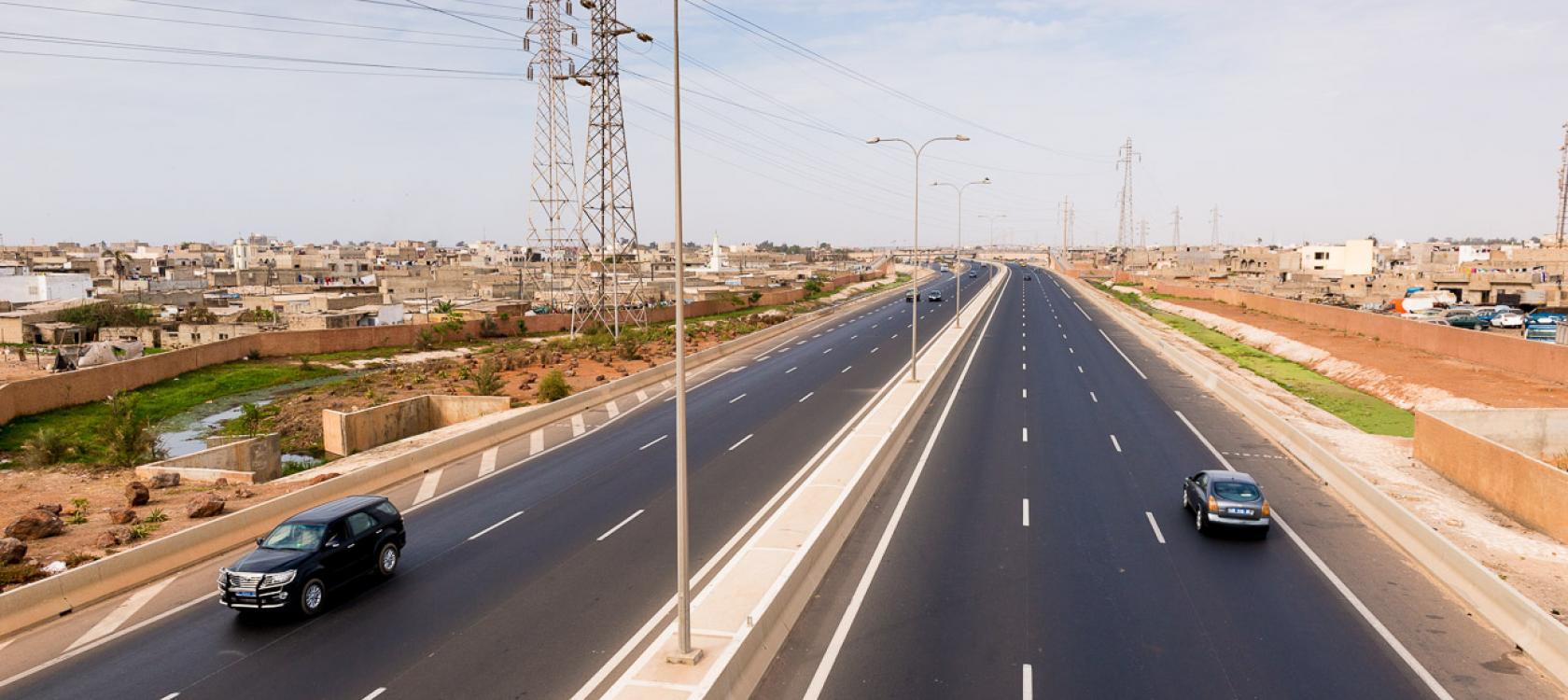 Une Autoroute Pour Desengorger La Presqu Ile De Dakar Afd Agence Francaise De Developpement