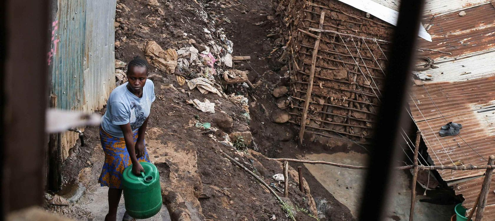 Improving the living conditions of slum residents in Kenya