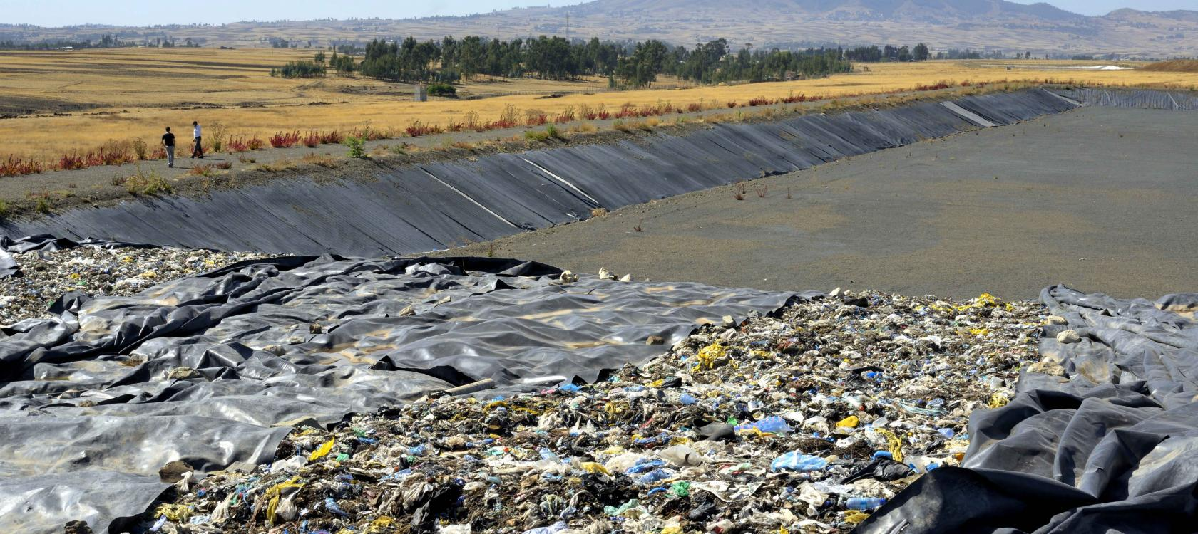 New sanitary landfill in Addis Ababa / Didier Gentilhomme AFD