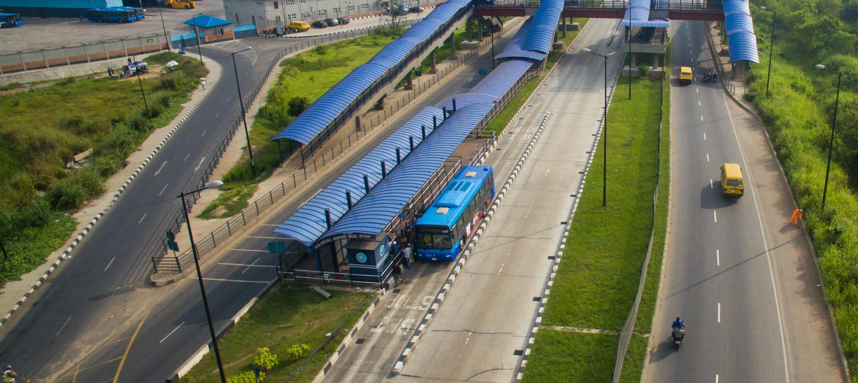 bus, Lagos, Nigeria, highway, transports, urban plan