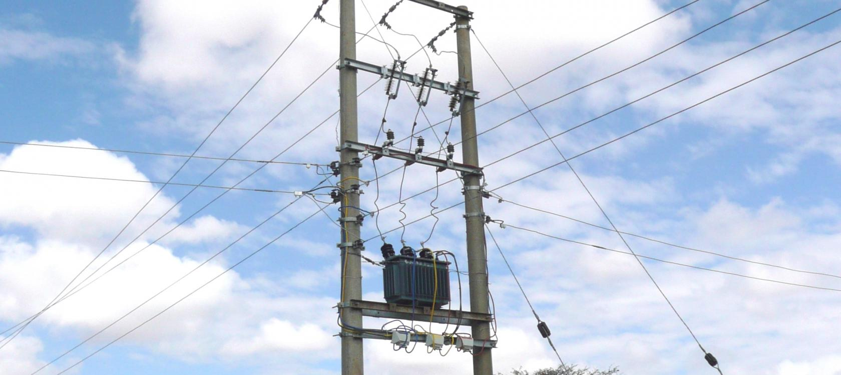 Reliability of electricity distribution - Nairobi, Kisumu