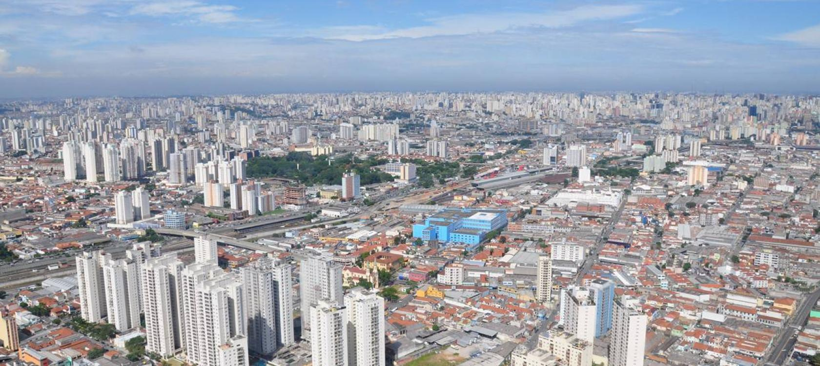 city of Sao Paulo, buildings, urban development, Brazil
