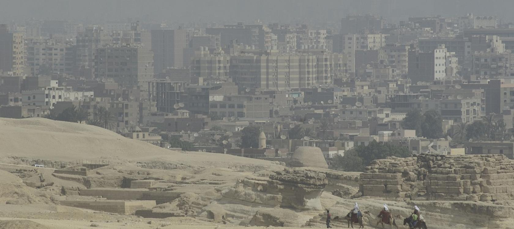Le Caire, Egypte, Gentilhomme, ville