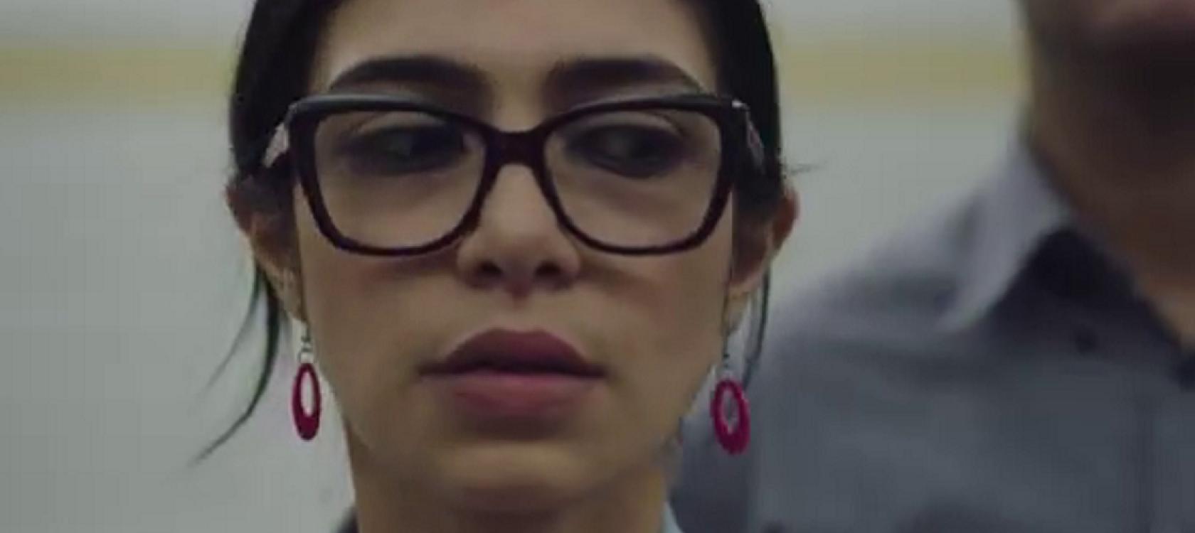 Capture de la vidéo de sensibilisation au harcèlement  en Egypte