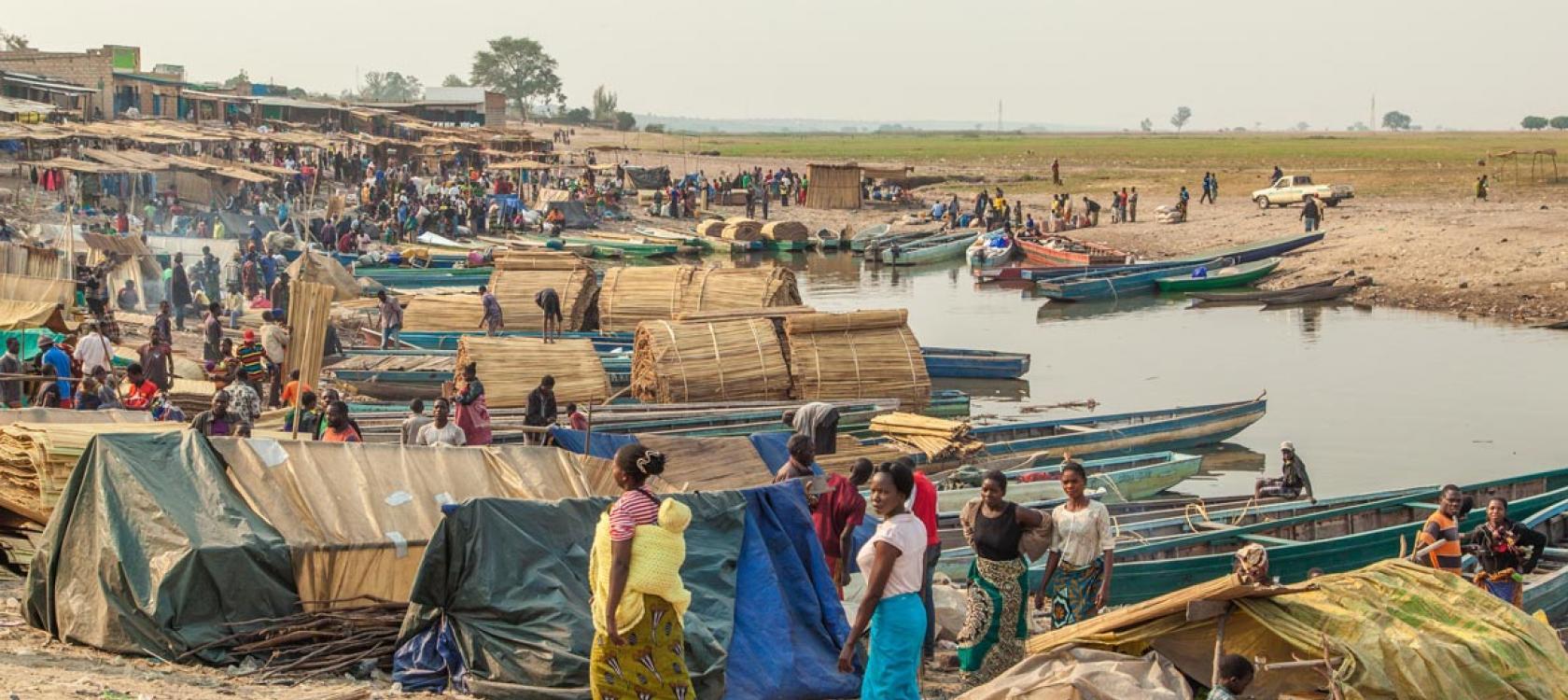 Mongu market, Zambia